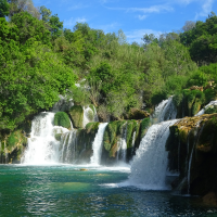 Krka National Park Waterfalls, Croatia 2016